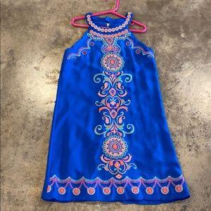 GB girls (Dillards) blue dress
